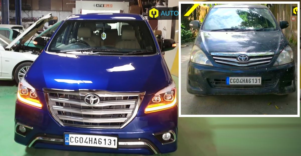 Watch the stunning transformation of an old beat up Toyota Innova [Video]