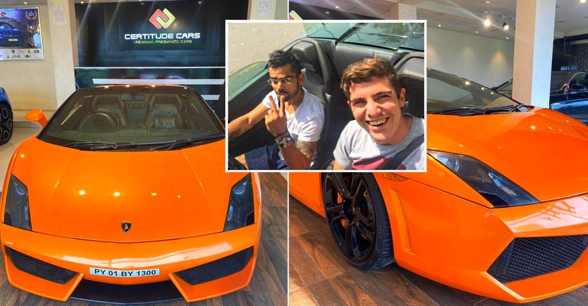 Virat Kohli's Lamborghini Gallardo Spyder supercar for sale: Interested?