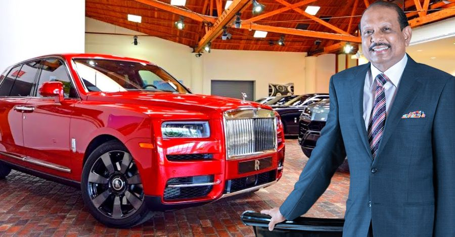 Billionaire owner of India's biggest mall: The cars he drives! [Video]