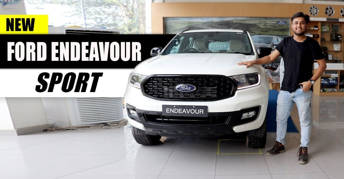 Check out the upcoming, 2020 Ford Endeavour Sport on video: Launch on 22nd September