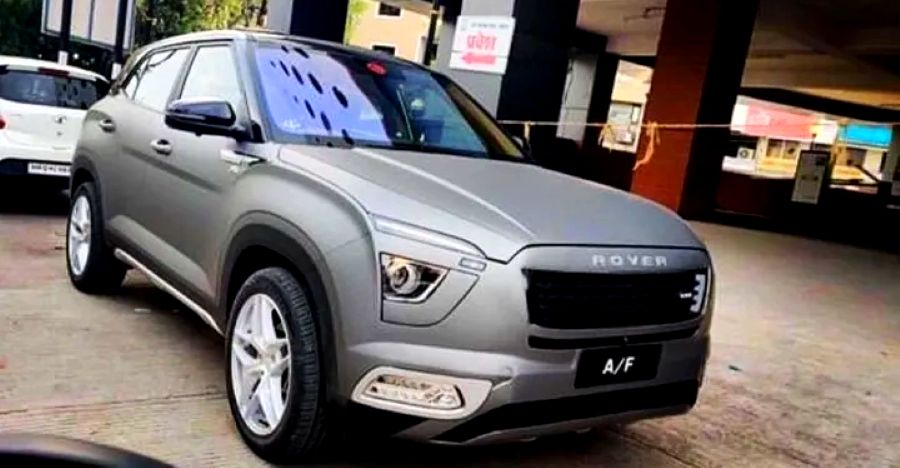 All-new Hyundai Creta gets modified: Wants to be a Range Rover