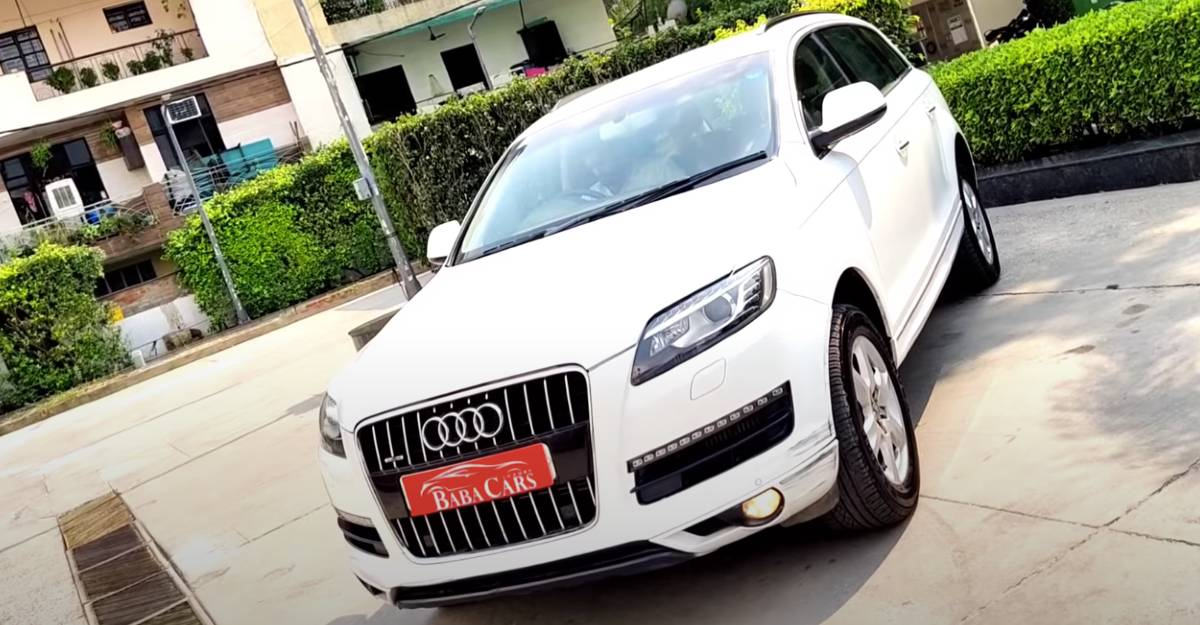 Used Q7 with less than 40,000 km on odometer for sale: CHEAPER than XUV300