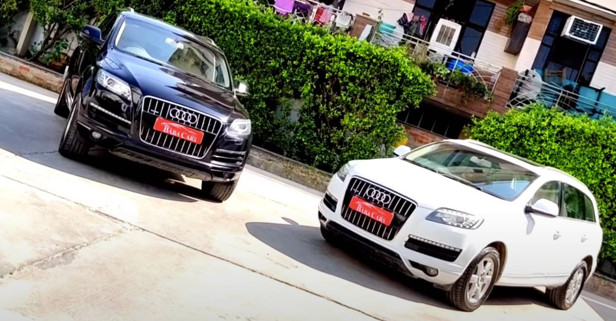 Used Audi Q7 luxury SUVs for sale at Kia Seltos prices