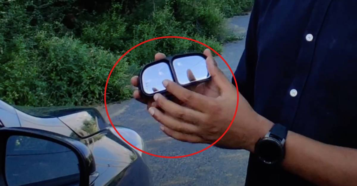 This important safety accessory is for only Rs 600: Blindspot mirror [Video]