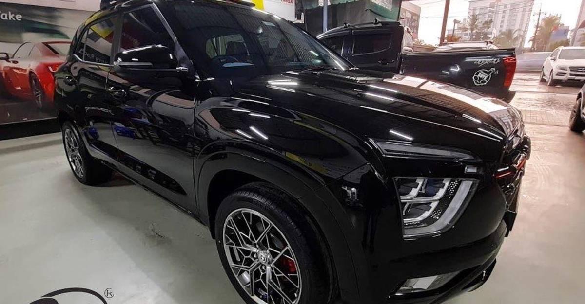 2020 Hyundai Creta with forged wheels looks HOT