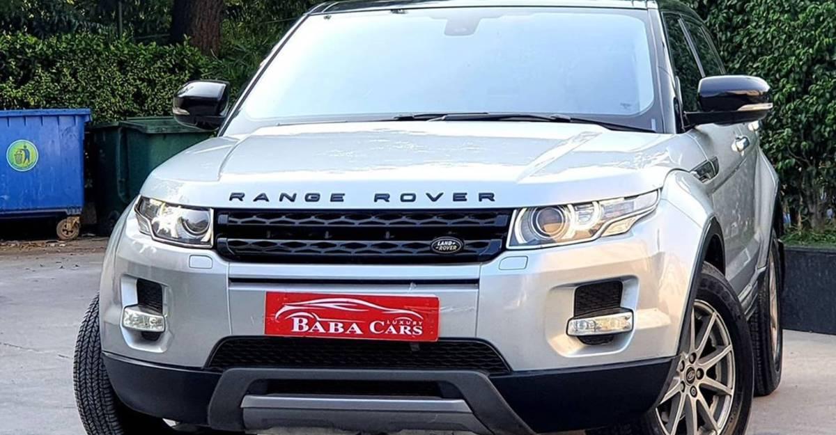 Pristinely-kept Land Rover Range Rover Evoque at Kia Seltos top variant's price!