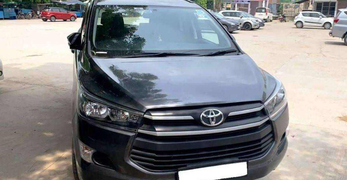 Used 2020 Toyota Innova Crysta MPVs for sale: Just a few months old