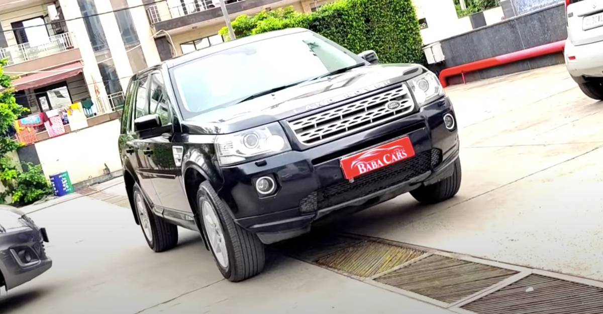 Well-maintained Land Rover Freelander2 selling for under Rs. 12.75 lakh [Video]