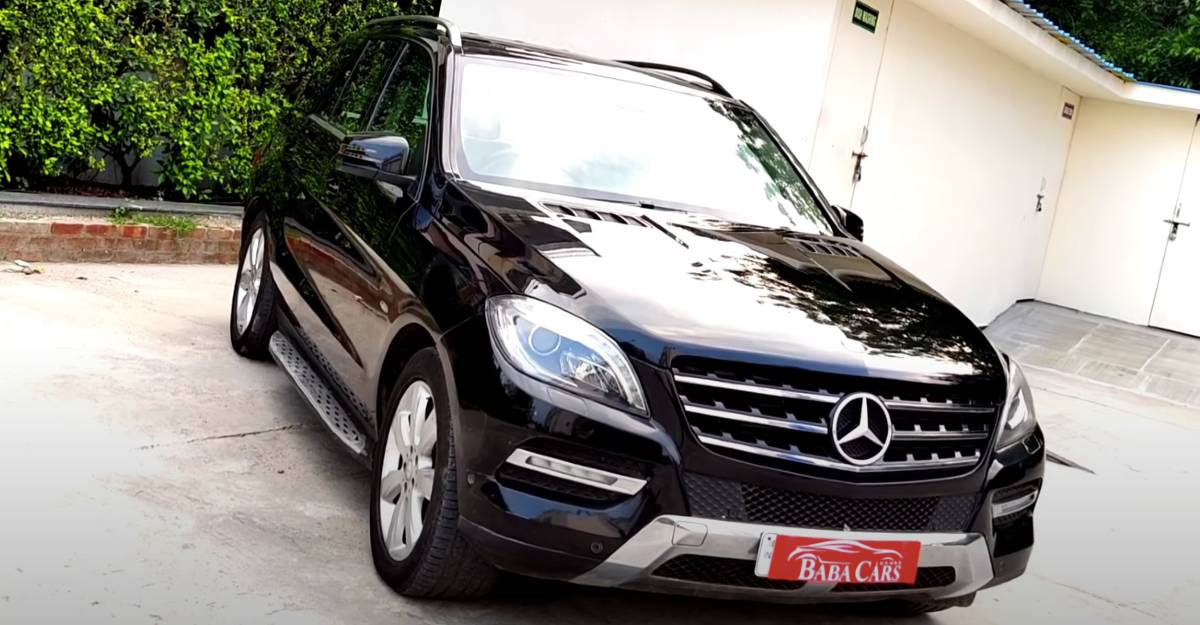 Used Mercedes-Benz ML-Class for sale: CHEAPER than a new Kia Seltos