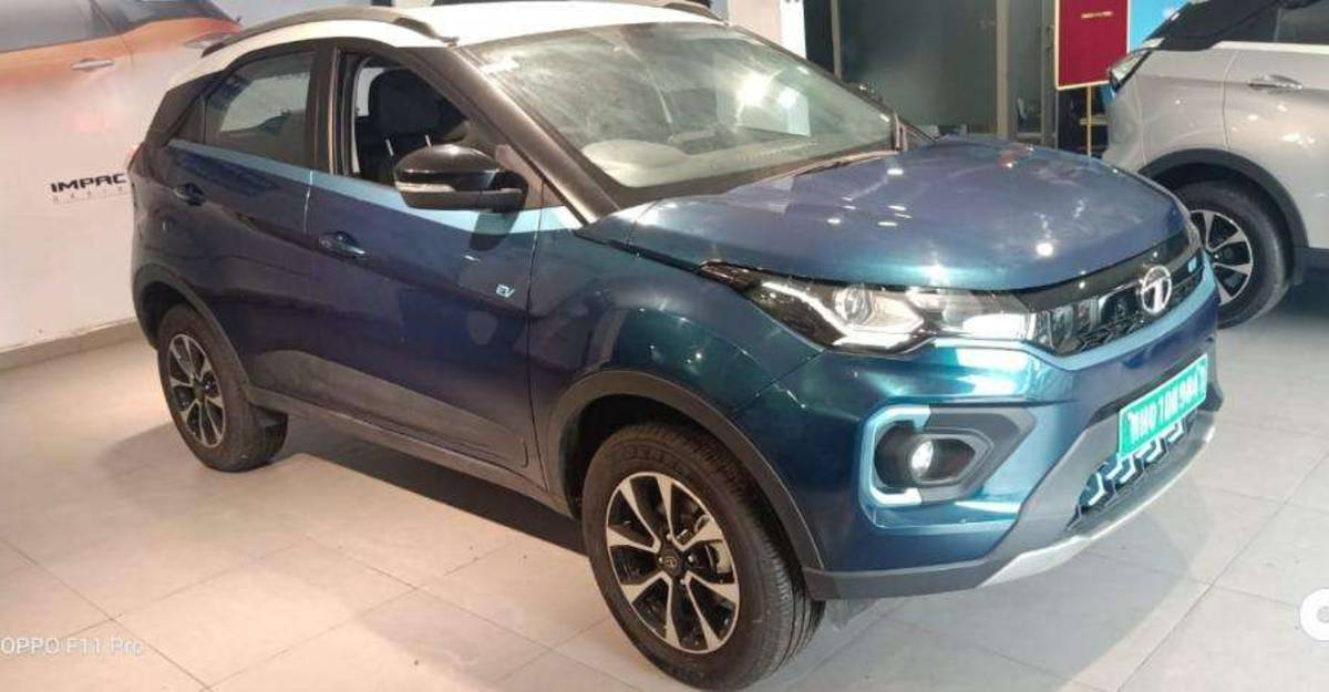 Tata Nexon Electric SUVs for sale for the 1st time in the used car market: 3 options for you