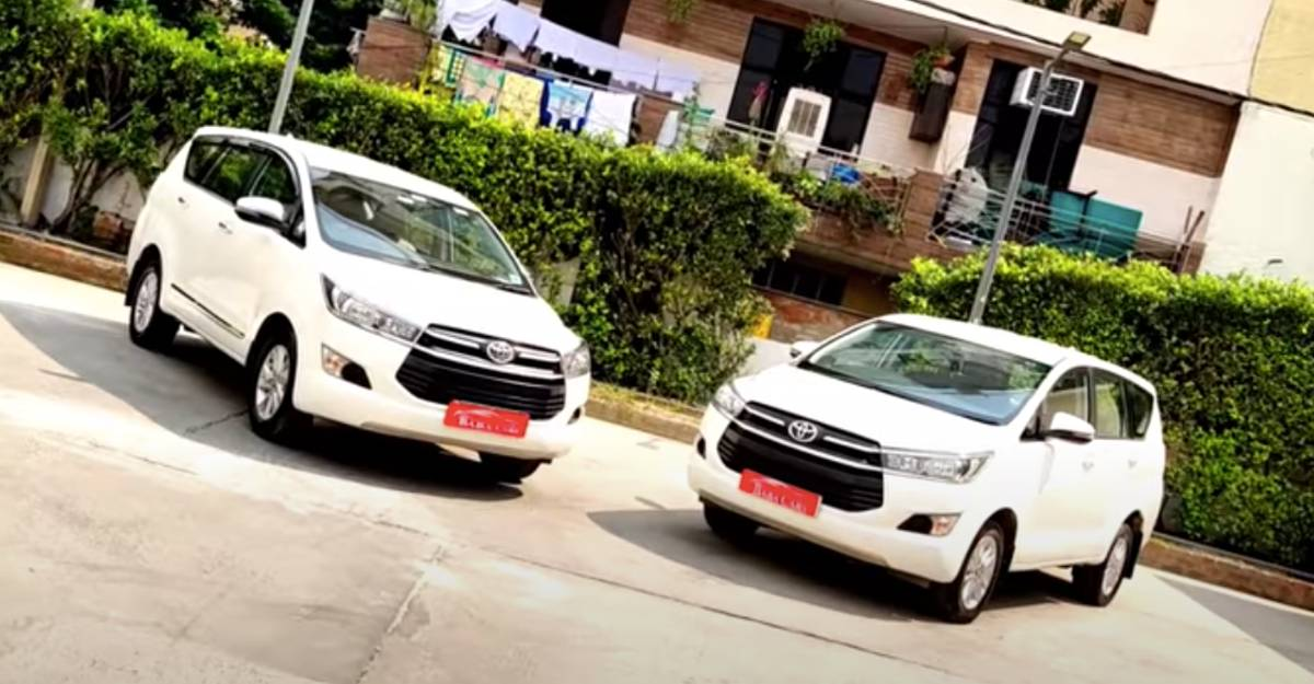 2-year old Toyota Innova Crysta MPVs for sale: Great buys with a solid factory warranty