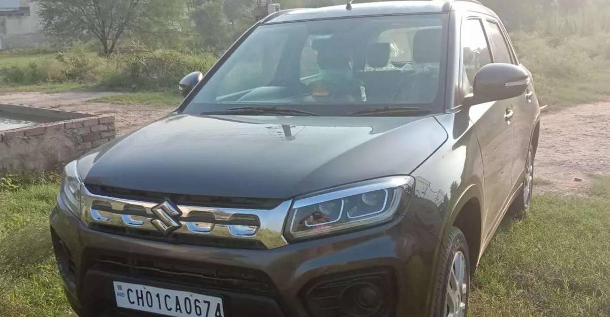 2020 used Maruti Suzuki Vitara Brezza petrol SUVs for sale