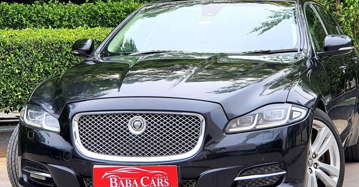 Sparingly-used Jaguar XJ-L luxury sedan on sale: CHEAPER than a Civic