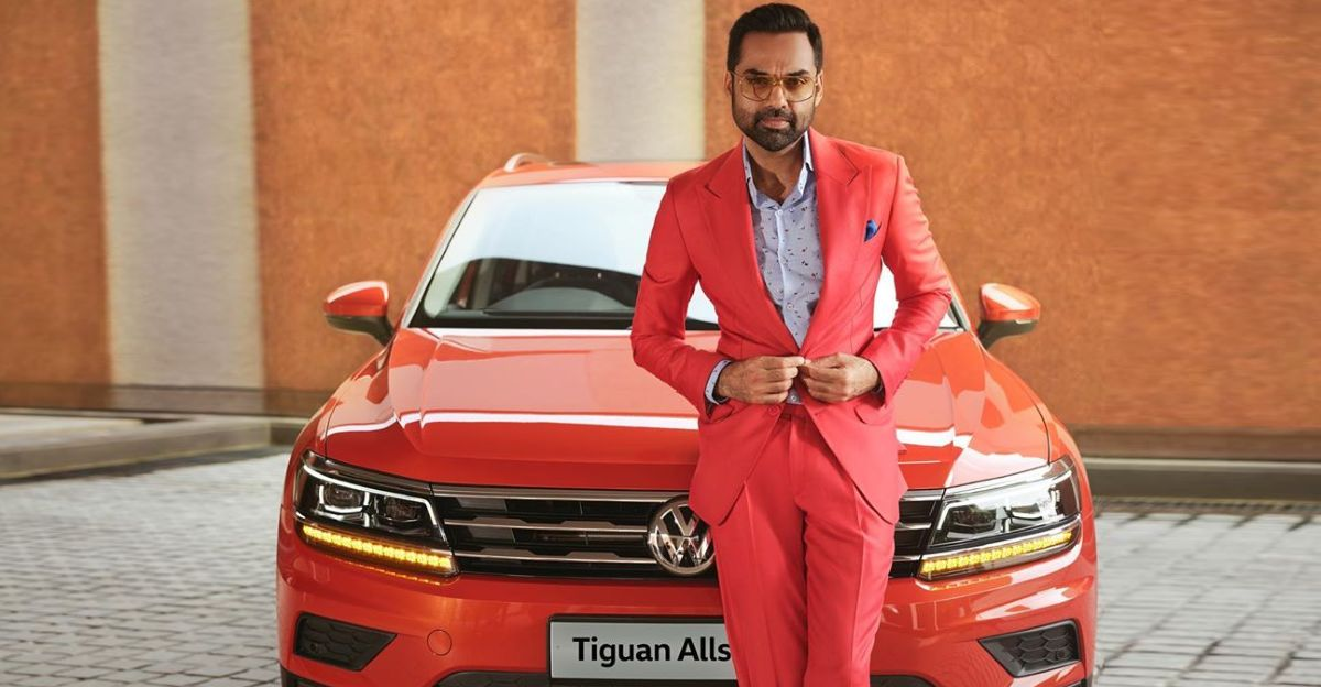 Abhay Deol's new ride is a Volkswagen Tiguan AllSpace luxury SUV