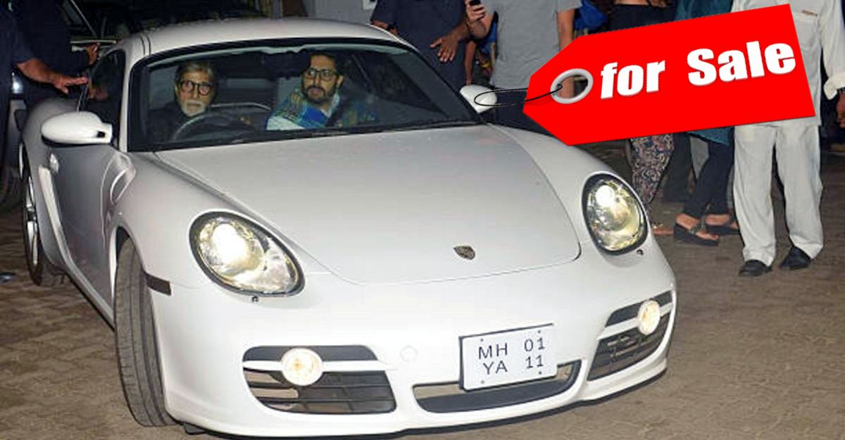 Amitabh Bachchan's Porsche Cayman S is for sale: ONLY 3,700 km done & cheaper than a Jeep Compass