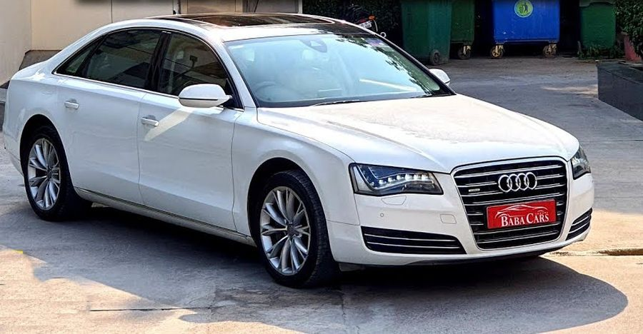 Well maintained Audi A8L super luxury sedan for sale: Cheaper than Honda Civic [Video]