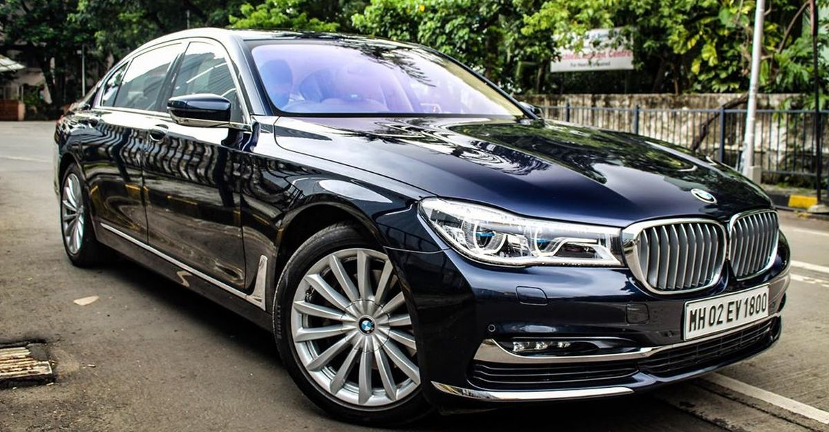 2 year-old BMW 7 Series selling at half price: Has full maintenance package