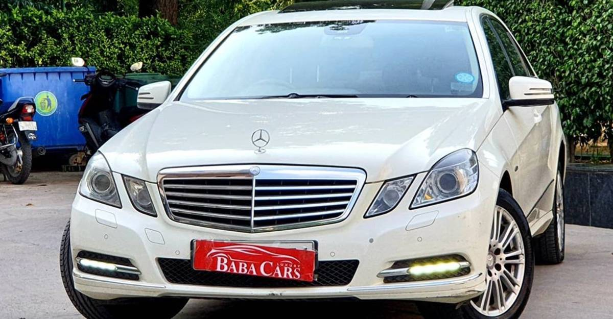Sparingly-used Mercedes-Benz E-Class for sale: CHEAPER than a new Volkswagen Vento