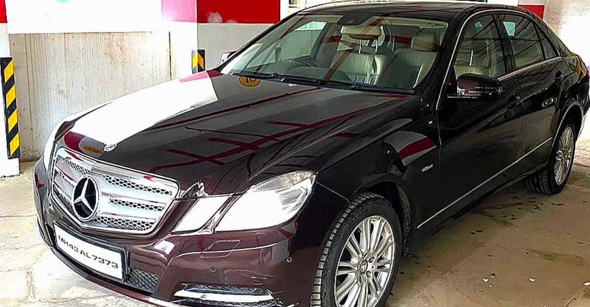 Used Mercedes-Benz E-Class luxury sedan for sale: CHEAPER than a Maruti Suzuki Dzire
