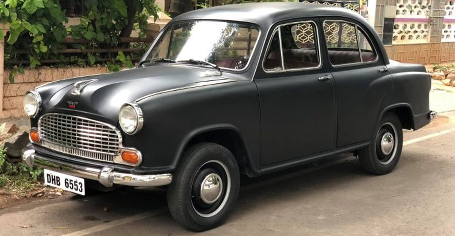 Gorgeously restored Hindustan Ambassador selling for Rs 3 lakh