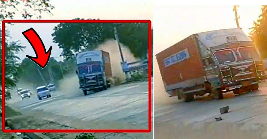 'Hit & Run' truck driver chased for over 40 Kms by cops: Finally caught [Video]