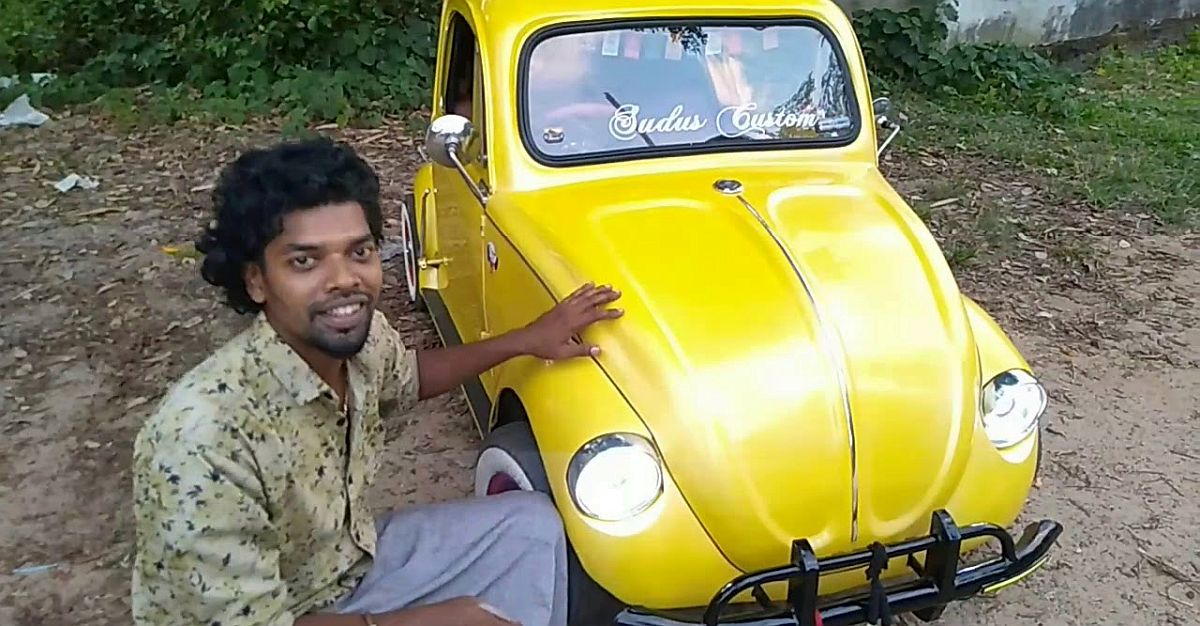 Watch India's only 'home-made' Volkswagen Beetle in action for the first time [Video]