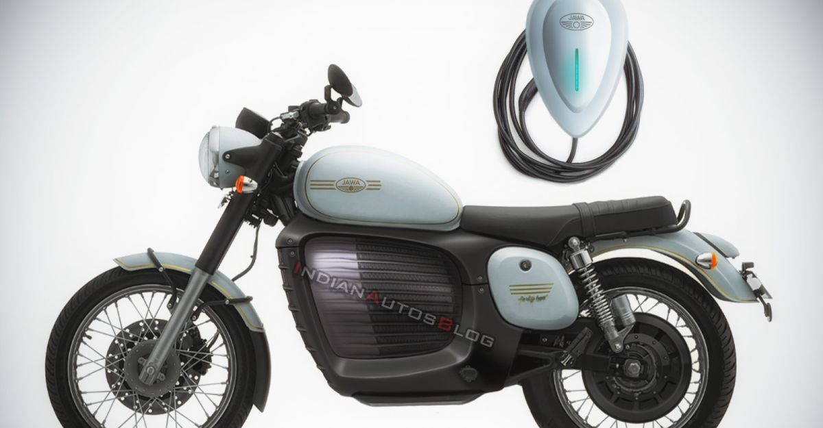 Jawa Forty Two retro motorcycle re-imagined as an electric motorcycle: New render