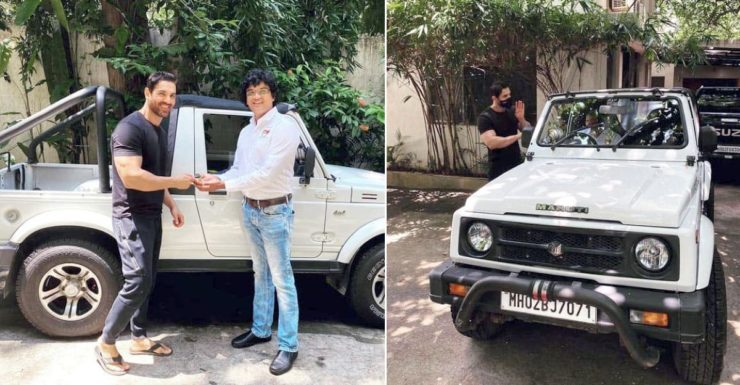 John Abraham donates his Maruti Suzuki Gypsy to animal welfare