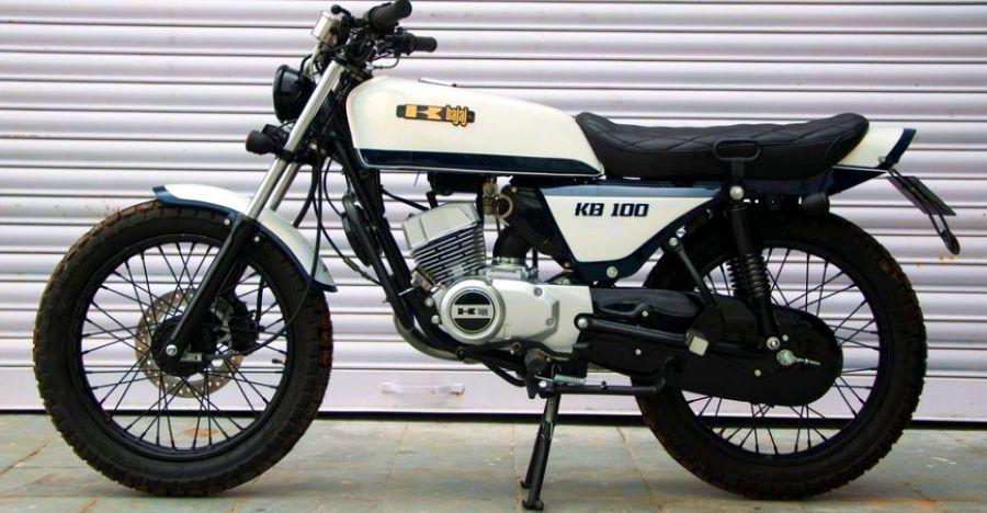 Resto-modded Kawasaki KB100 RTZ will bring back the 90s kid in you