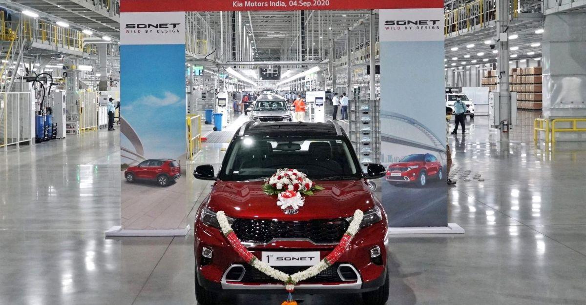 Sonet compact SUV waiting period hits 2 months: Kia Motors plans 3rd shift