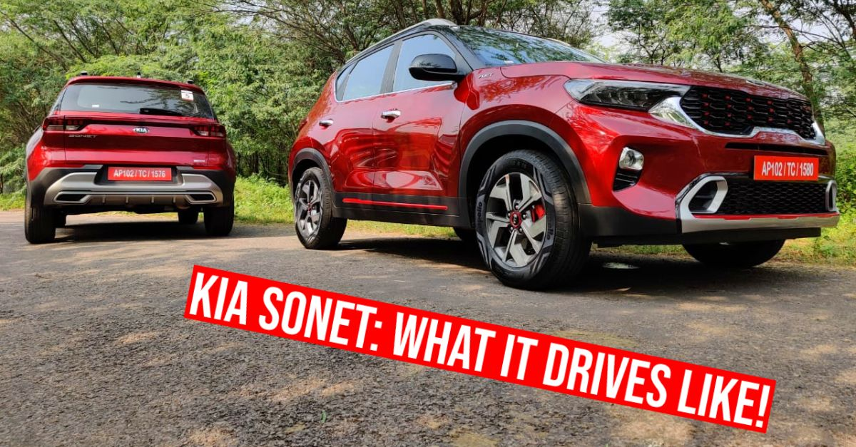 Kia Sonet: 1.0 turbocharged petrol IMT & DCT automatic in CarToq's first drive review [Video]