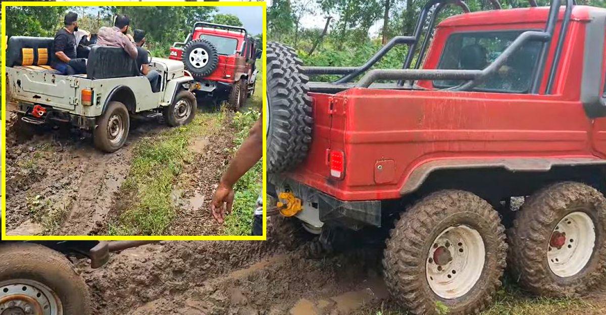 Watch the Bolero 6X4 rescue stuck Mahindra Major [Video]