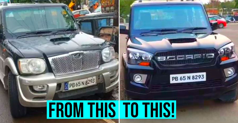 Ten-year old Mahindra Scorpio SUV converted to latest '2020' model [Video]