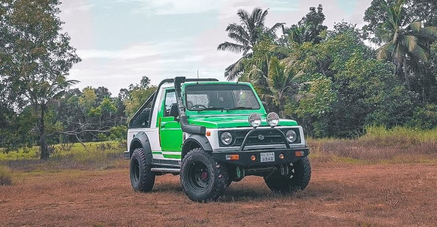 Check out this tastefully modified Maruti Gypsy on video