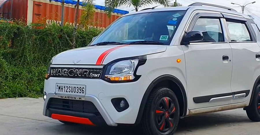 Accessorised Maruti WagonR 'GT Edition': Check it out on video