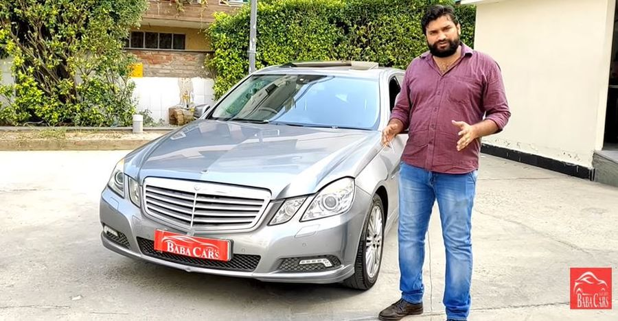 Mercedes Benz E-Class with 500 Nm of torque selling cheaper than a Maruti Swift [Video]