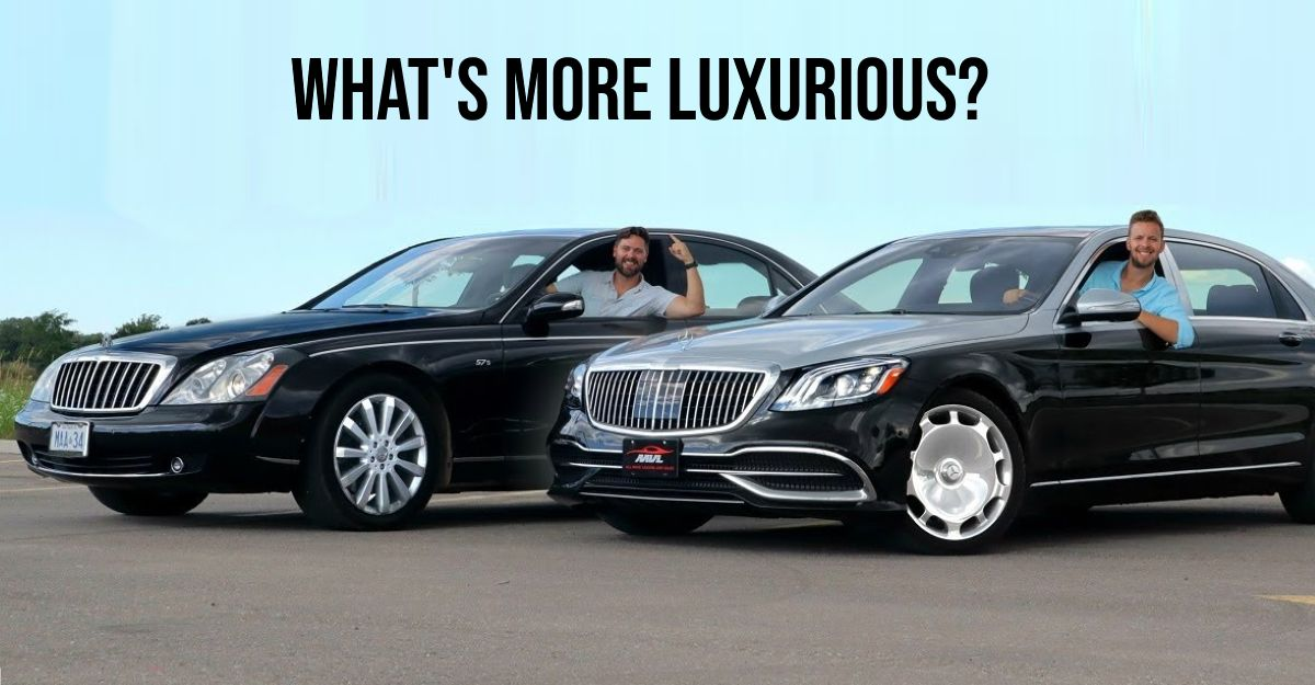 Old Maybach vs new Maybach: What's more luxurious? [Video]