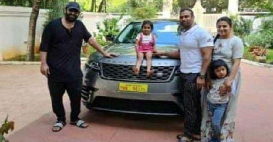 Movie star 'Bahubali' Prabhas gifts gym trainer a swanky Range Rover Velar worth Rs. 89 lakh