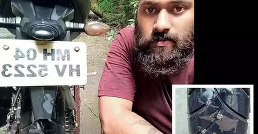 Rider forced to pay Rs. 6,500 for 'fixing puncture' on his motorcycle tyre