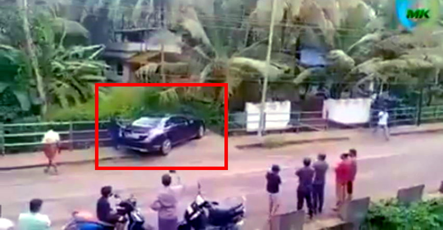Someone tried to park a long sedan on the same spot as the Innova & FAILED spectacularly [Video]