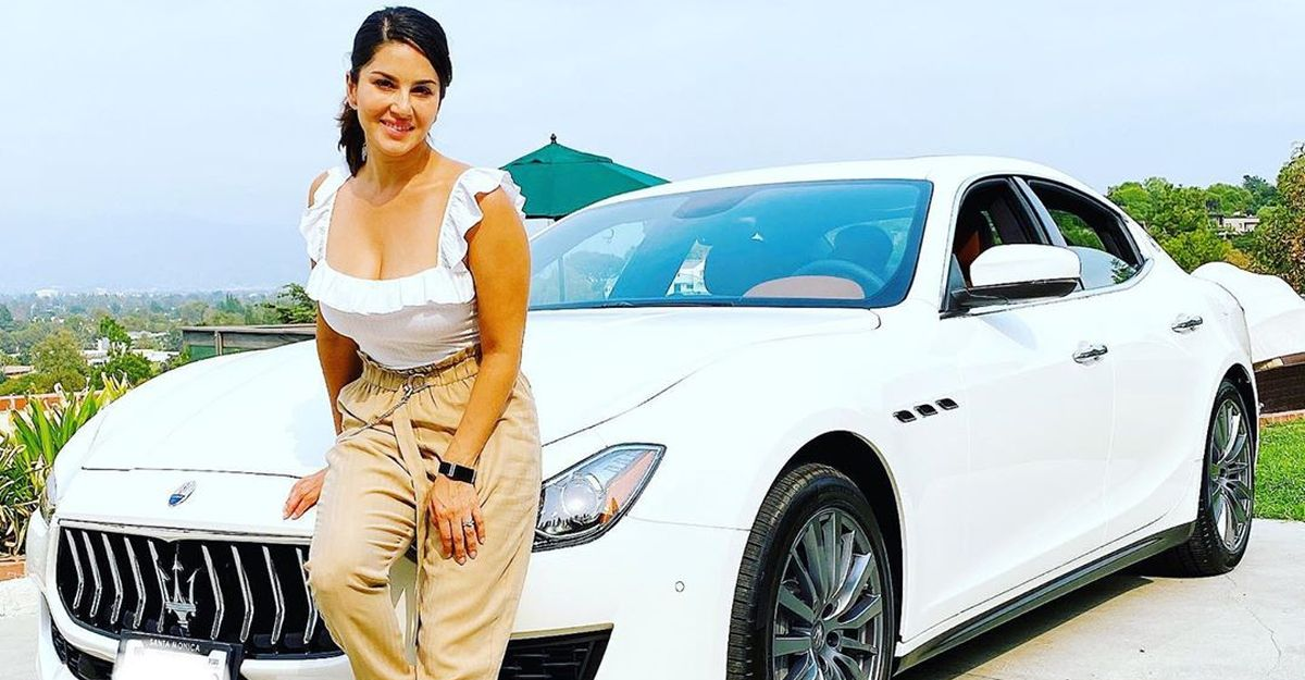 Sunny Leone's new car is a swanky Maserati Ghibli: 3rd Maserati in her luxury car garage