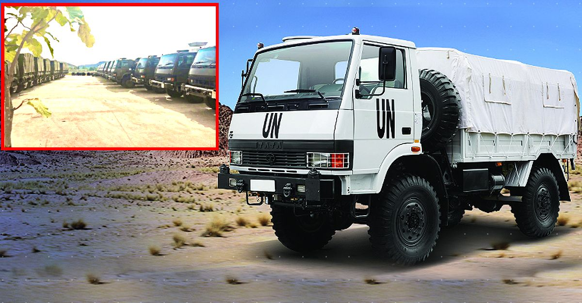 Thai Army to buy 600 Military Trucks with 4X4 from Tata Motors