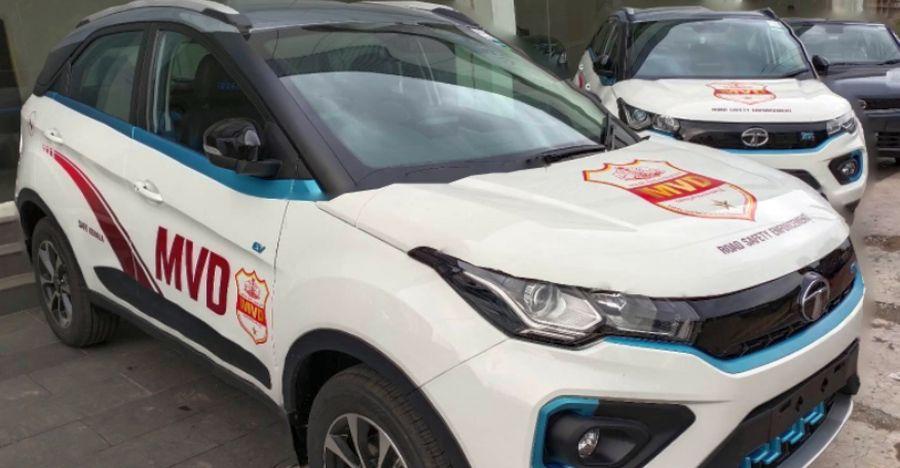 Kerala MVD's latest ride is the Tata Nexon Electric SUV