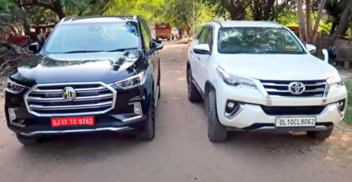 MG Gloster vs Toyota Fortuner. Which SUV should you get?