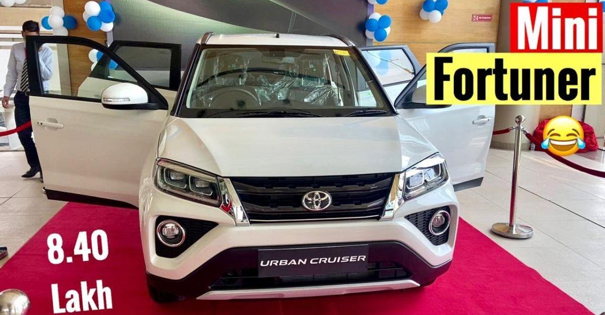 Toyota Urban Cruiser Compact Suv Reaches Dealerships Walkaround Video Shows You More