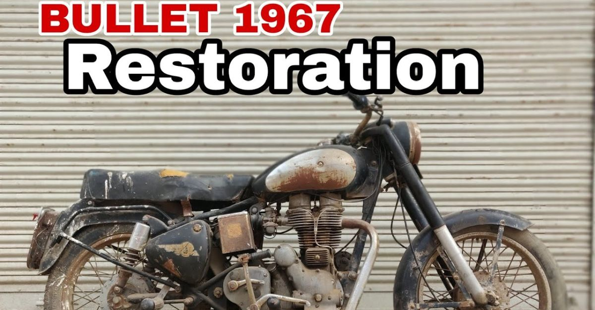 Watch this 1967 Royal Enfield Bullet get beautifully restored on video