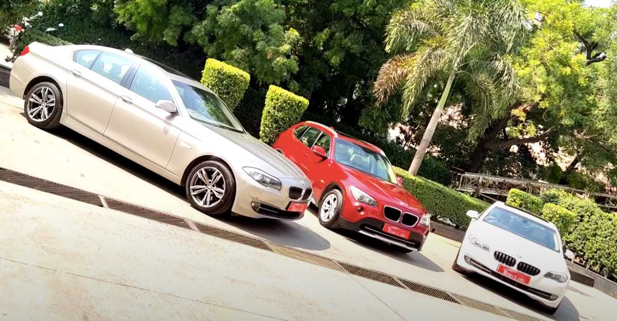 3 used BMW sedans and SUVs for sale starting at only Rs 8.45 lakh