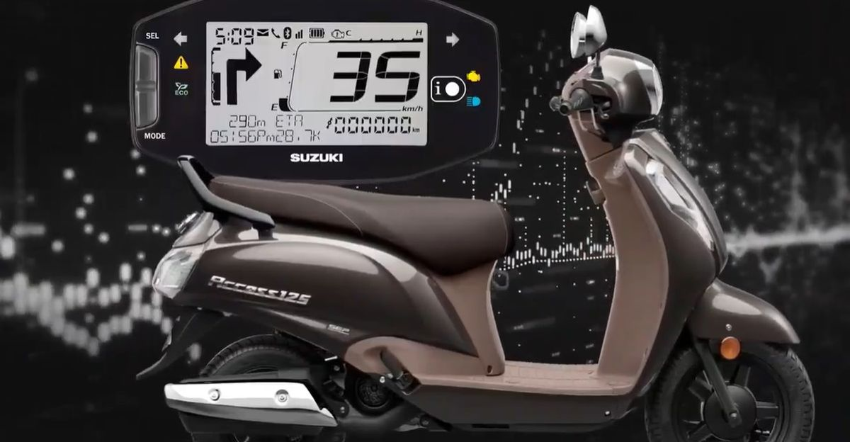2020 Suzuki Access 125 automatic scooter launched: Honda Activa rival gets Bluetooth