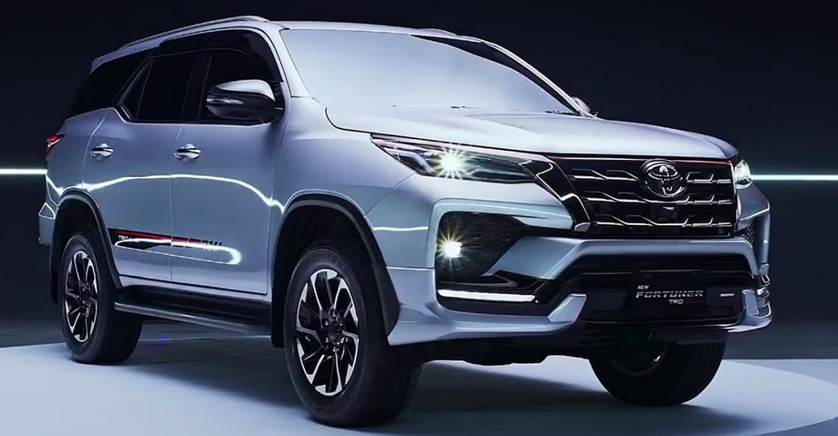 toyota india's 2021 fortuner luxury suv facelift detailed
