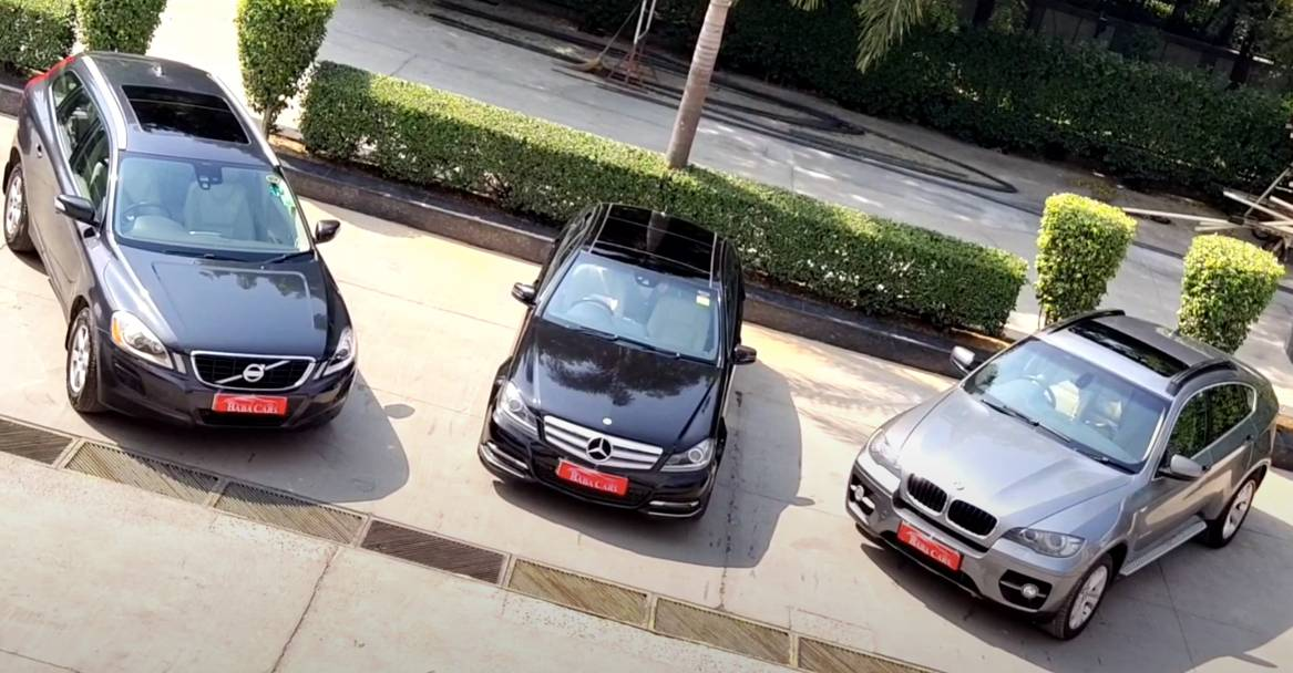 Used Luxury Cars Suvs From Mercedes Benz Bmw Volvo Starting At Rs 9 75 Lakh Video